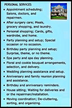 Shopping errands business plan