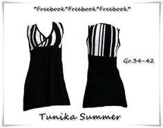 Tunika-Kleid und andere Freebooks