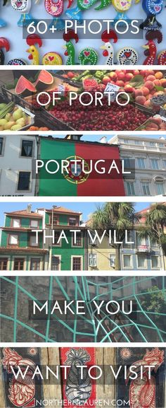 Beautiful images of Porto, Portugal, on of the most fascinating European destinations for travellers on a budget that's full of vibrant colours and glorious street art.