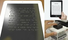 'Braille Kindle' will make reading easier for blind people