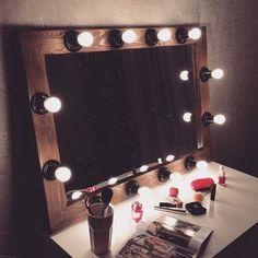 круглое зеркало с лампочками - Поиск в Google