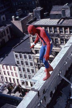 The Amazing Spider-Man Live-Action TV Show starring Nicholas Hammond Spectacular Spider Man, Amazing Spider, Comic Movies, Good Movies, Nicholas Hammond, Action Tv Shows, 1980s Tv, Nadja, Men Tv