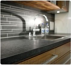Superb Black Honed Granite Countertops Kitchen   Google Search