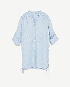 Image 8 of STRIPED SHIRT DRESS from Zara Striped Shirt Dress, Dress  Collection, Zara 947a344a767b