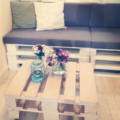 euro pallet coffee table