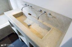 delphi white sink tadelakt