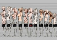 Soul Calibur V Breast Size Chart