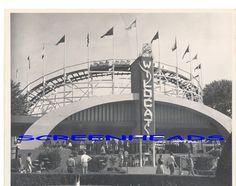 Old Coney Island, Cincinnati, Ohio  Wildcat coaster