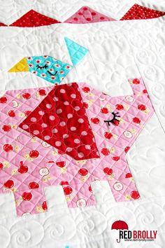 Surprise! Sneek Peek….new quilt patterns from Red Brolly