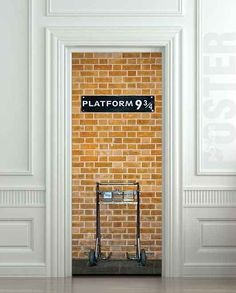 Harry Potter decorating ideas. you know, for when we raise our children together.