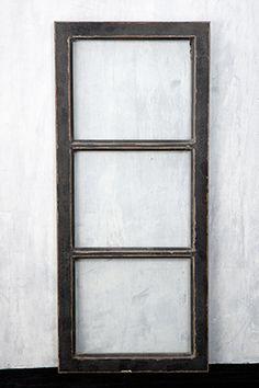 Window Frame Black 13x31in
