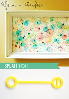 Outside fun with bubbles and food coloring, Kid Friendly Friday—How I keep my busy little boy busy: Little Paper Dog