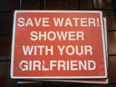 Save water!