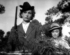 (Dir, Jean Renoir: RULES OF THE GAME, 1939) From the hunting sequence, a kind-of distillation of the films' themes.