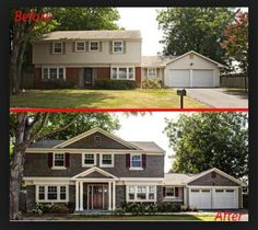 Remodel before and after... What a difference!