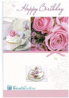 Female Birthday 399 This Luxury Greeting Card Is One Of Many Available From