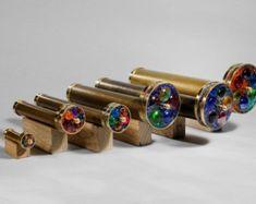 Mini Puzzle Wheels Kaleidoscope Mini Kaleidoscope Brass