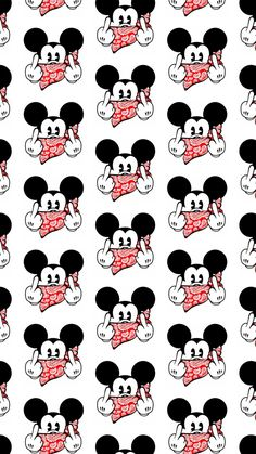 Muster Hintergründe ❣︎∣ᴮᵞᵛᴵ · ⁴ · ᵞᴼᵁ∣❣︎ - - New Ideas Mickey Mouse Wallpaper Iphone, Cartoon Wallpaper Iphone, Cute Disney Wallpaper, Cute Cartoon Wallpapers, Phone Wallpapers, Arte Do Mickey Mouse, Disney Mickey Mouse, Hype Wallpaper, Aesthetic Iphone Wallpaper