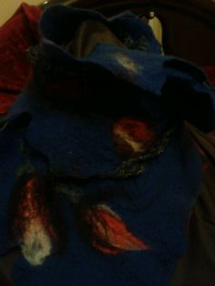 Scialle #felting#scarf#mwc