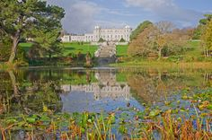Autumn Weddings at Powerscourt House View from the Triton Lake, Powerscourt Photo Credit Paul Kiernan www.powerscourt.com Autumn Weddings, Fall Wedding, House Viewing, Most Beautiful Gardens, Photo Credit, Acre, Backdrops, Wedding Photos, Blush Fall Wedding