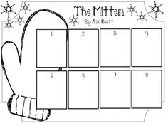 "This is a great activity for your students to put in order what happens in the story ""The Mitten."""