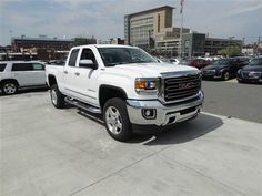 2015 Gmc Sierra 2500hd White