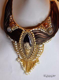 shibori silk jewelry - Google Search
