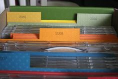 Digital photos have taken over my life, or at least my computer. I have over 40,000 pictures on my computer and my computer barely works because of all the images. I love this idea from The Crafting Chicks to organize and store your digital photos. For more ideas to help you simplify and organize one day at a time, visit the Organized in 365 Archives.