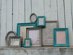 Picture Frame Set Collection Home Decor Set Gallery by TRWpainted, $130.00