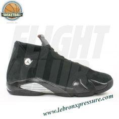 Air Jordan 14 retro black light graphite metallic silver redwood