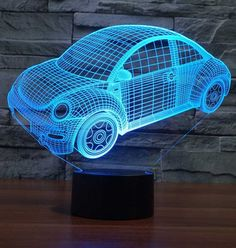 Foxy 3D Illusion Lamp
