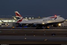 High quality photo of G-CIVS (CN: 28851) British Airways Boeing 747-436 by GFB