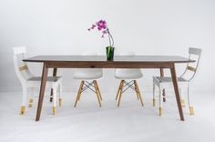 Walnut Dining Table Midcentury Modern Dining Table от moderncre8ve