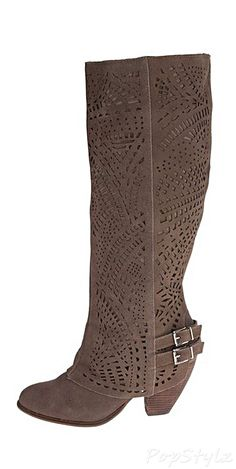 Naughty Monkey Fast Times Slouch Leather Boot