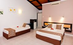 Great and comfortable accommodation at Gecko's Resort.