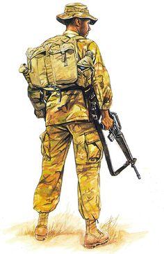Marine Recon: Division recon, Vietnam, 1970