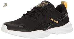 Reebok Women's Royal Blaze Gn Fashion Sneaker, Black/White/Gold Metallic, 7.5 M US - Reebok sneakers for women (*Amazon Partner-Link)