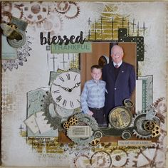 Hi Everyone, Feels like our weather has gone backwards.we've had a week of glorious weather after all the rain but the rain is back! Vintage Scrapbook, Baby Scrapbook, Scrapbook Albums, Scrapbook Cards, Scrapbook Layout Sketches, Scrapbook Designs, Scrapbooking Layouts, Smash Book Pages, Layout Inspiration