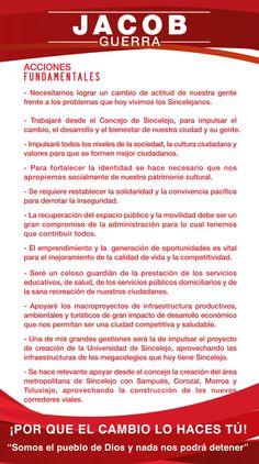 ACCIONES Jacob Guerra  Concejo L-7 El Cambio Lo Haces TU