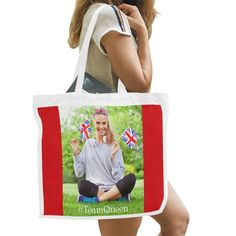Red Background, Large Bags, Canvas Tote Bags, Casual Outfits, Parenting, Reusable Tote Bags, American, Casual Clothes, Casual Styles