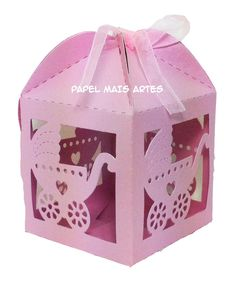 caixinhas silhouette - Pesquisa Google Decorative Boxes, Container, Paper Crafts, Home Decor, Baby, Handmade Boxes, Boxes, Paper Craft Work, Babys