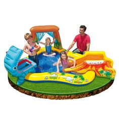 LOWEST EVER AMAZON PRICE Intex Dinosaur Play Center SAVE 42% NOW £28.02 delivered