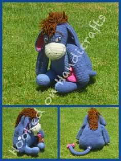 Eeyore by Hooked on Handicrafts. See us on Facebook and please like our page. Orders taken