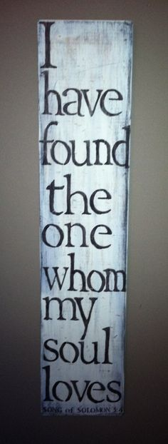 Rustic wooden sign I have found the one whom my by RootsMamaShop, $40.00