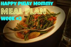 Filipino Weekly Meal Plan from Happy Pinay Mommy Weekly Meal Plan Family, One Week Meal Plan, Weekly Menu Planning, Meals For The Week, Meal Planning, Easy Filipino Recipes, Filipino Dishes, Dinner Suggestions, Afternoon Snacks