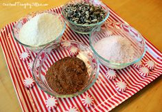 Homemade Mint Hot Chocolate Mix {For Giving or Keeping!} | One Good Thing by Jillee teacher gifts, mint hot, homemad mint