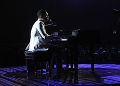 John Legend performs on the 56th Annual GRAMMY Awards on Jan. 26 in Los Angeles
