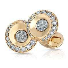 Gold and Diamond Cufflinks . . . . . der Blog für den Gentleman - www.thegentlemanclub.de/blog