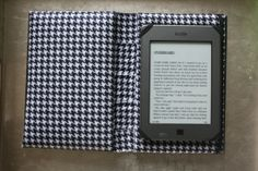 DIY Kindle Case out of an old book!