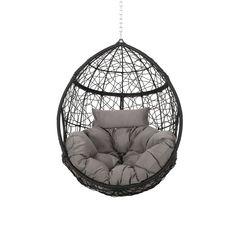 Cool Chairs For Bedroom, Swing Chair For Bedroom, Swinging Chair, Living Room Chairs, Room Decor Bedroom, Egg Swing Chair, Hanging Egg Chair, Modern Hanging Chairs, Home Yoga Room